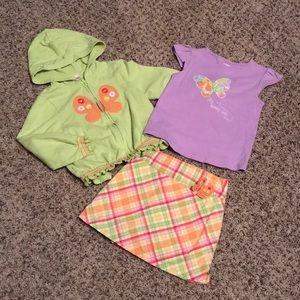 Gymboree 3 piece outfit